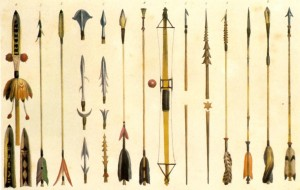 Como fazer flechas de bambu indígenas