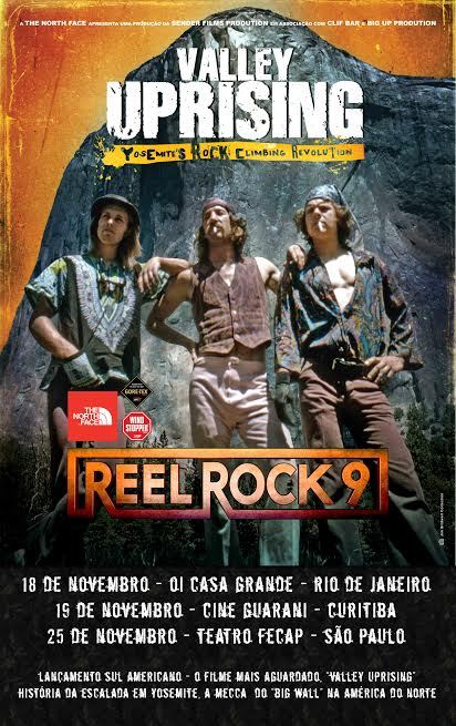 The North Face traz a 9ª edição do Reel Rock Tour