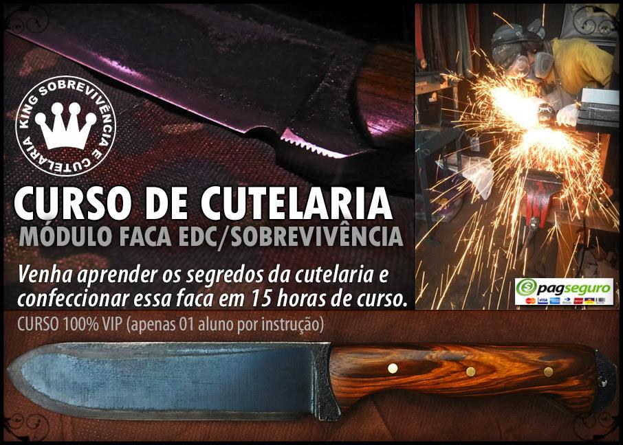 Curso de cutelaria artesanal VIP